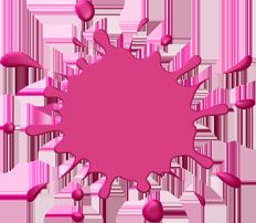 pinksplat